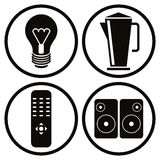 Household Appliances Icons Set 2. Stock Image