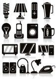 Household appliances icons set. Stock Photo