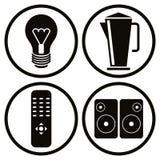 Household appliances icons set 2. Stock Image