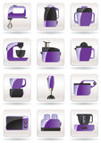 Household appliances for kitchen Stock Photos