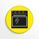 Household appliances. Oven. Vector icon. Stock Photo