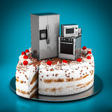 Household appliances Royalty Free Stock Photography