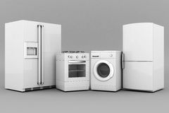 Household appliances Stock Photography