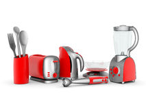 Household appliances Royalty Free Stock Images