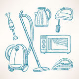 Household appliances Stock Photo