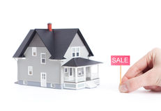 Household architectural model Stock Photos