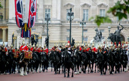 The Household cavalry band Stock Image