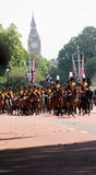 The Household cavalry band Stock Images