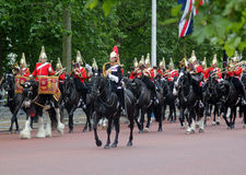 The Household cavalry band Stock Photography