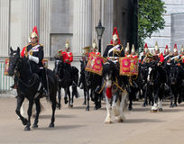 The Household cavalry band Royalty Free Stock Photo
