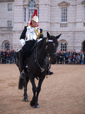 Household Cavalry at Horse Guards Parade Royalty Free Stock Photo