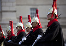 Household Cavalry Stock Photography