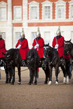 Household Cavalry Stock Photo