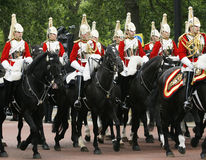 Household Cavalry at Queen's Birthday Parade Stock Images