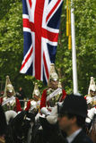 Household Cavalry at Queen's Birthday Parade Royalty Free Stock Image