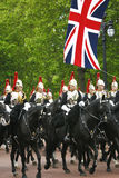 Household Cavalry at Queen's Birthday Parade Royalty Free Stock Photo