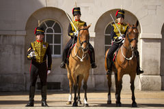 Household cavalry Royalty Free Stock Images