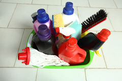 Household chemicals Royalty Free Stock Photography
