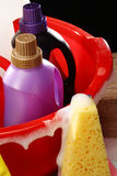 Household chemicals Stock Image