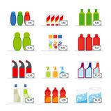 Household chemicals Royalty Free Stock Images