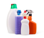 Household chemicals Royalty Free Stock Photos