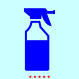 Household chemicals  set  it is color icon . Royalty Free Stock Photography