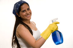 Household chore stock image