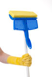 Household Chores:  Mopping Stock Photos