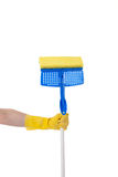 Household Chores:  Mopping Royalty Free Stock Photo