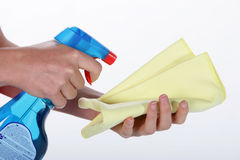 Household cleaner Stock Images