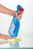 Household cleaner Stock Photos