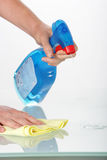 Household cleaner Stock Photo