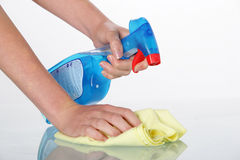 Household cleaner Royalty Free Stock Photography