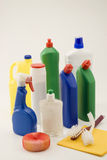Household cleaning products. Stock Photography
