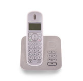 Household cordless telephone isolated Royalty Free Stock Photo
