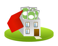 Household costs vector Stock Image