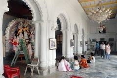 Household Durga Festival of Kolkata Royalty Free Stock Photos
