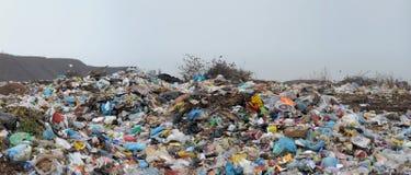 Household dust on a city dump Royalty Free Stock Photos