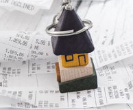 Household expenses Royalty Free Stock Photo