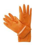 Household gloves. Royalty Free Stock Photos
