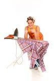 Household, ironing Stock Photo