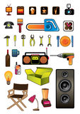 Household items. Isolated. Vector illustration Stock Image