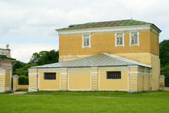 Household outbuilding in Kuskovo estate Stock Photography
