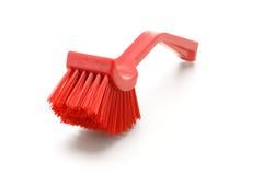 Household plastic brush Royalty Free Stock Photo