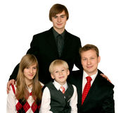 Household portrait Stock Photography