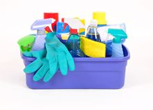 Household products stock photos