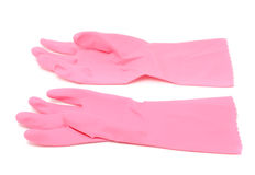 Household Rubber Gloves Royalty Free Stock Image