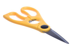 Household Scissors Macro Isolated Stock Photo