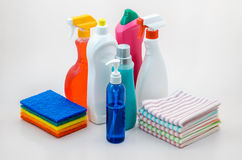 Household Scrub Set 01 Royalty Free Stock Photo