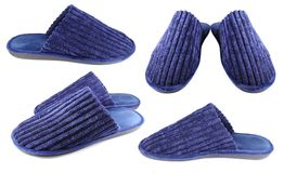 Household slippers for men Royalty Free Stock Image